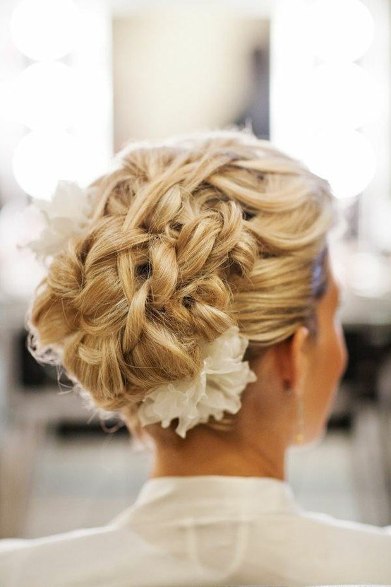 New Braided Wedding Hairstyles For Long Hair Weddings By Lilly Ideas With Pictures