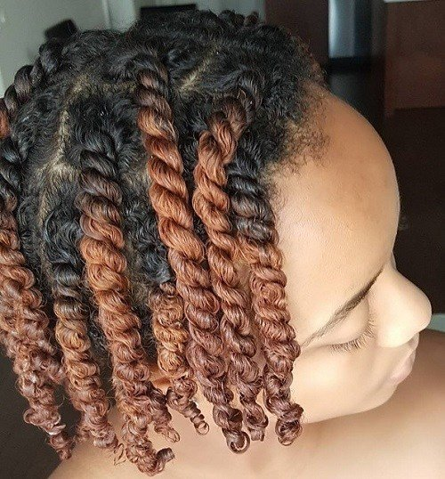 New 20 Beautiful Twisted Hairstyles For Women With Natural Ideas With Pictures