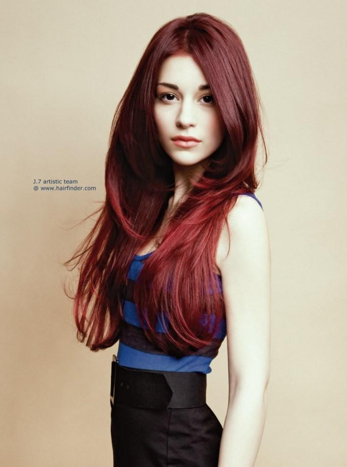 New Deep Red Hair Hairstyles Hair Photo Com Ideas With Pictures