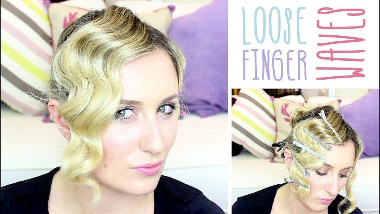 New How To Loose Finger Waves Youtube Ideas With Pictures