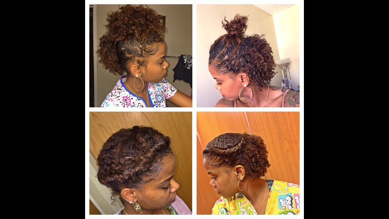 New 6 Cute Hairstyles For A Braid Out Short Hair Natural Hair Tutorial Youtube Ideas With Pictures