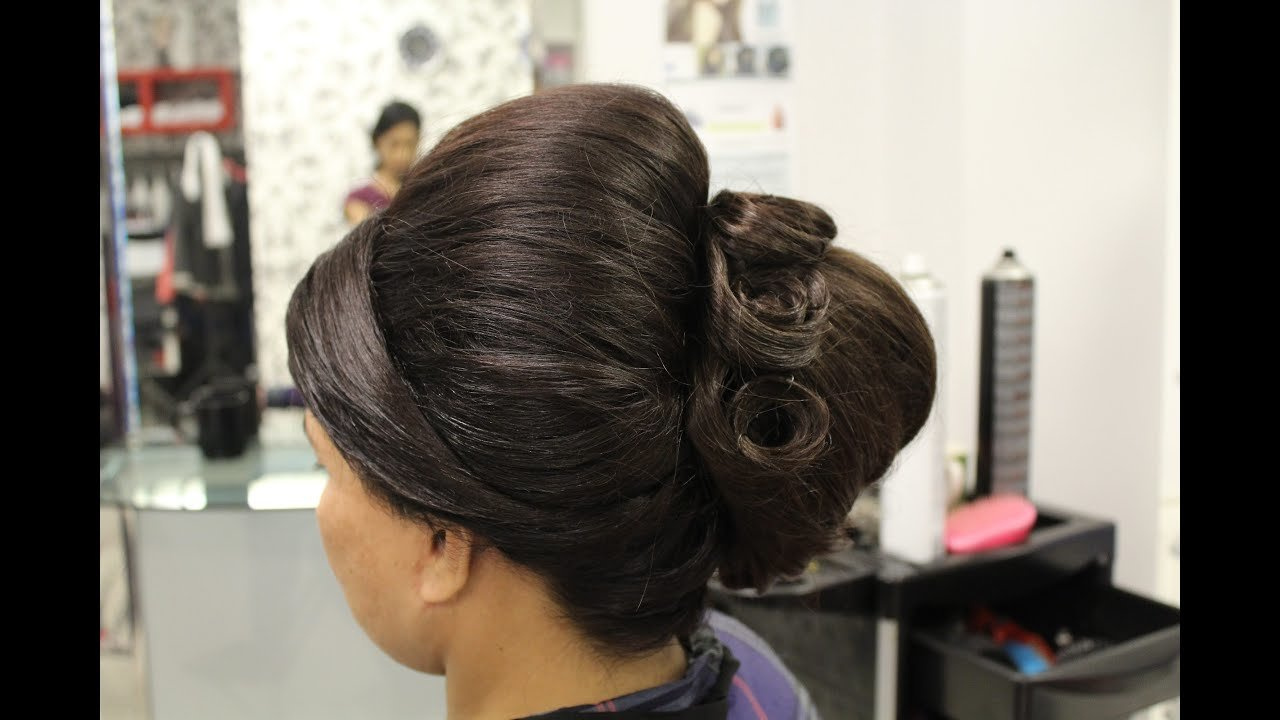 New How To Indian Bridal Hairstyles For Short Hair Youtube Ideas With Pictures