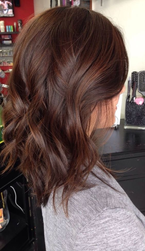 New 30 Natural And Rich Brown Hair Ideas Styleoholic Ideas With Pictures