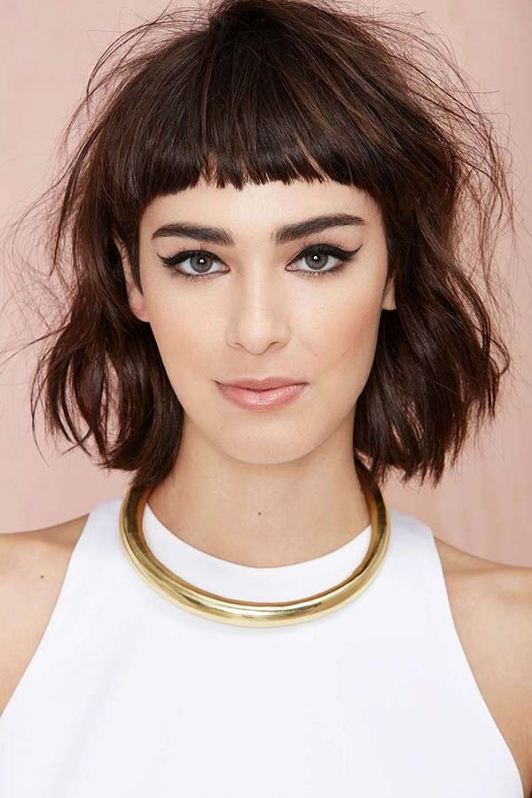 New 30 Bangs Hairstyles For Short Hair Ideas With Pictures