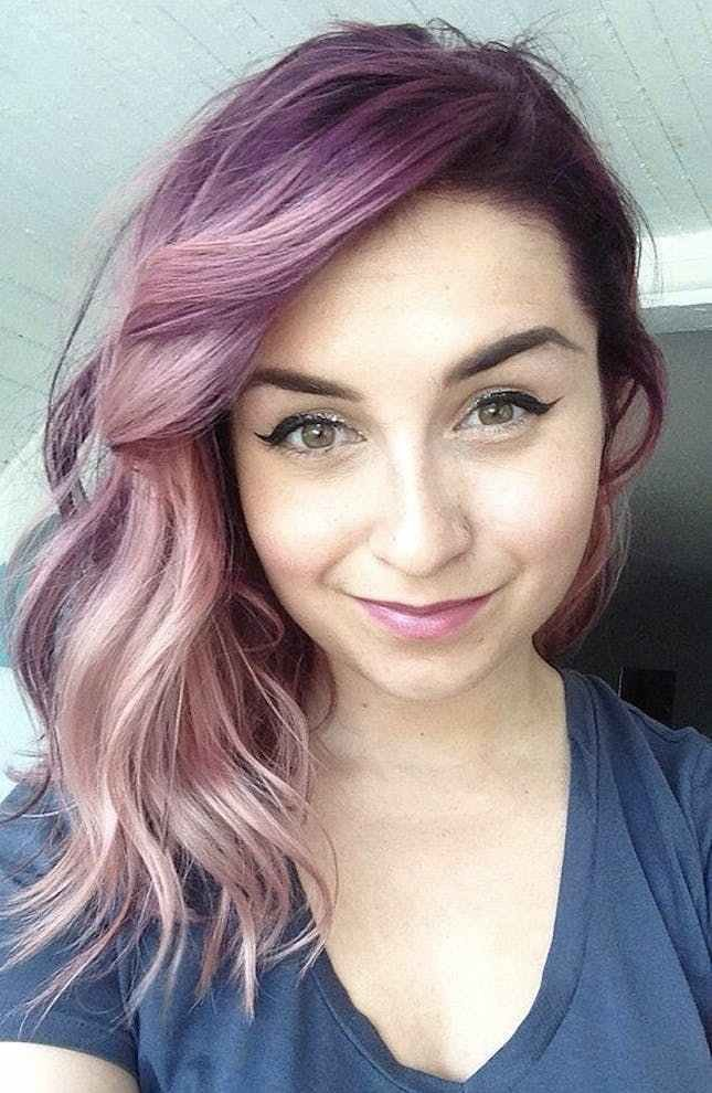 New Think Pink With 20 Cotton Candy Colored Dye Jobs Brit Co Ideas With Pictures