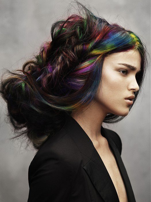 New Crazy Hair Colors 2013 Latest Hairstyles 2016 Hair Color Ideas With Pictures