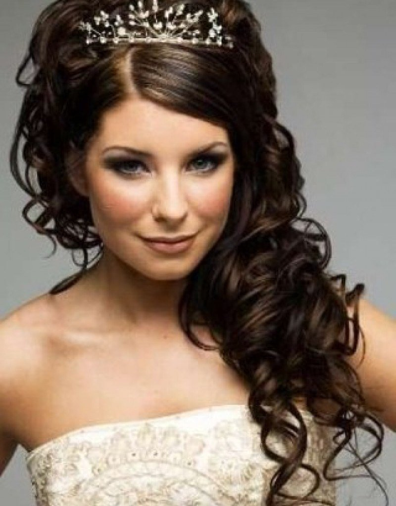 New 11 Awesome And Romantic Curly Wedding Hairstyles Awesome 11 Ideas With Pictures