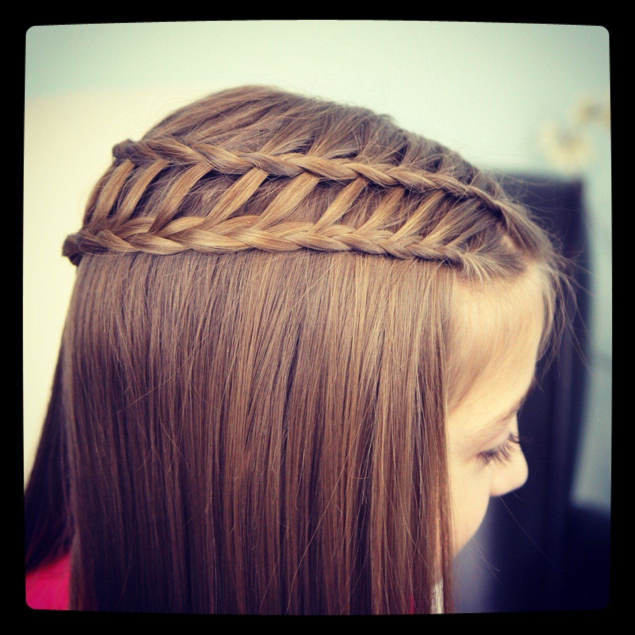 New Feather Waterfall Ladder Braid Combo 2 In 1 Hairstyles Cute Girls Hairstyles Ideas With Pictures Original 1024 x 768
