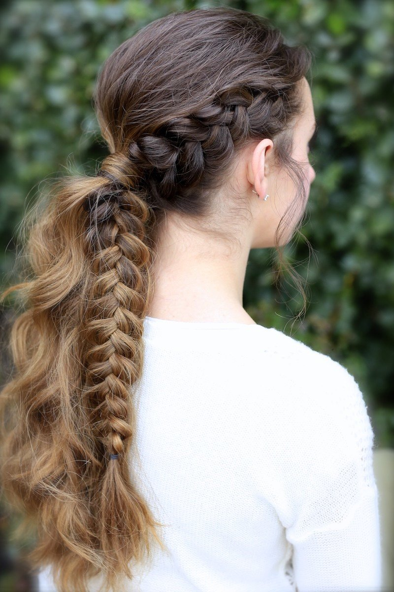 New The Viking Braid Ponytail Hairstyles For Sports Cute Ideas With Pictures