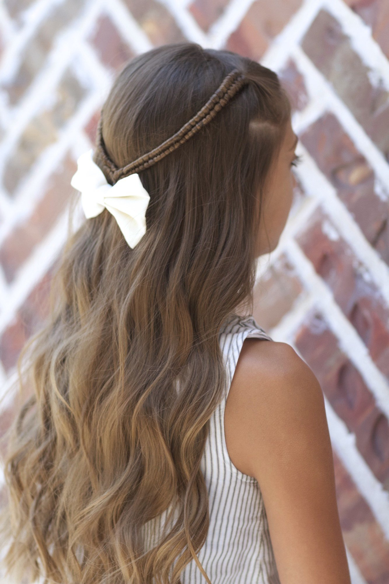 New Infinity Braid Tieback Back To School Hairstyles Cute Ideas With Pictures