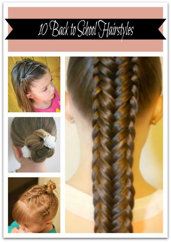New 10 Back To School Hairstyles Ideas With Pictures