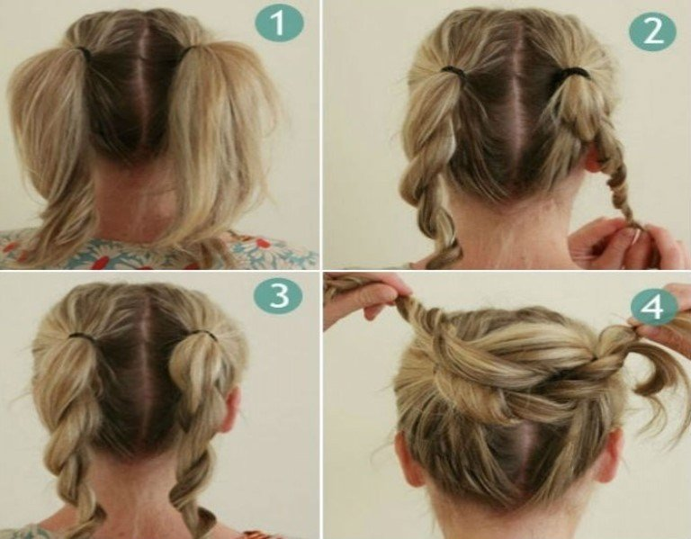 New Bun Hairstyles With Pictures Within 5 Steps Ideas With Pictures