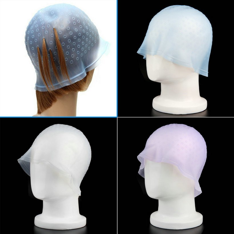 New Professional Reusable Hair Colouring Highlighting Dye Cap Frosting Tipping Sy Ebay Ideas With Pictures