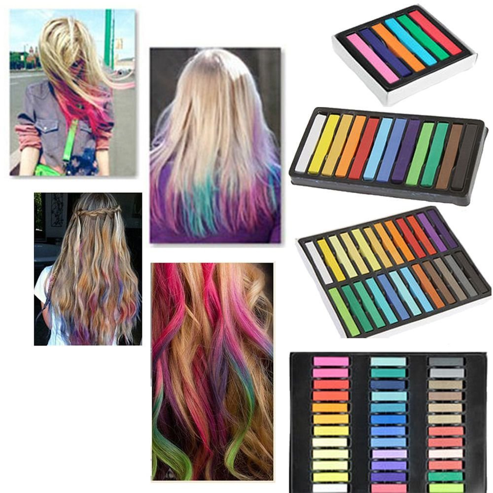 New Diy Easy Temporary Fast Colors Hair Chalk Dye Soft Hair Ideas With Pictures