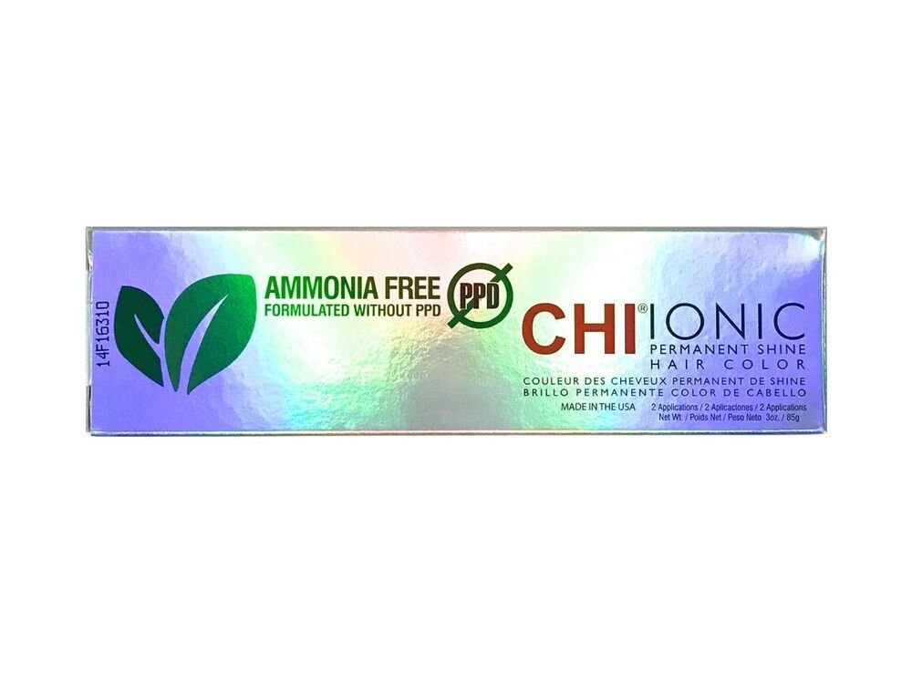 New Chi Ionic Permanent Shine Hair Color Ammonia Ppd Free Ebay Ideas With Pictures