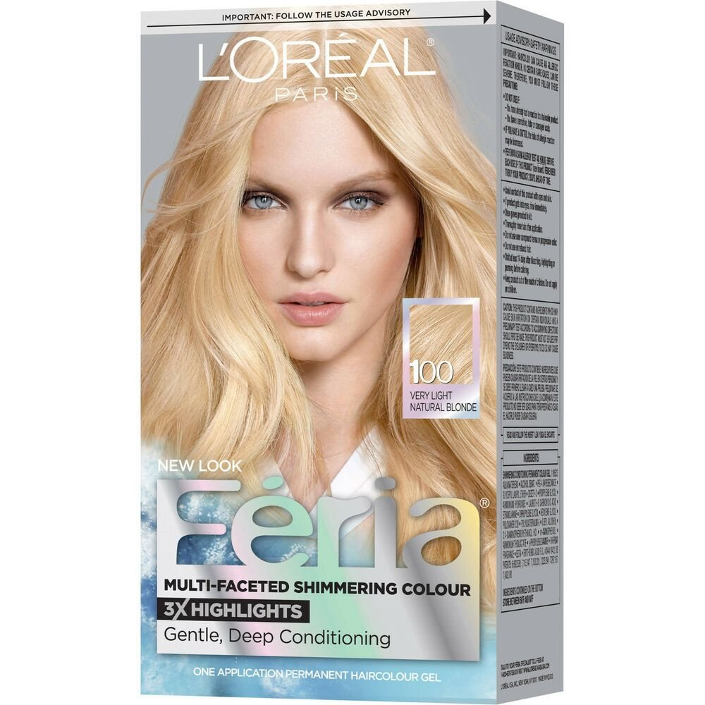 New L Oreal Paris Feria Multi Faceted Shimmering Hair Color Ideas With Pictures
