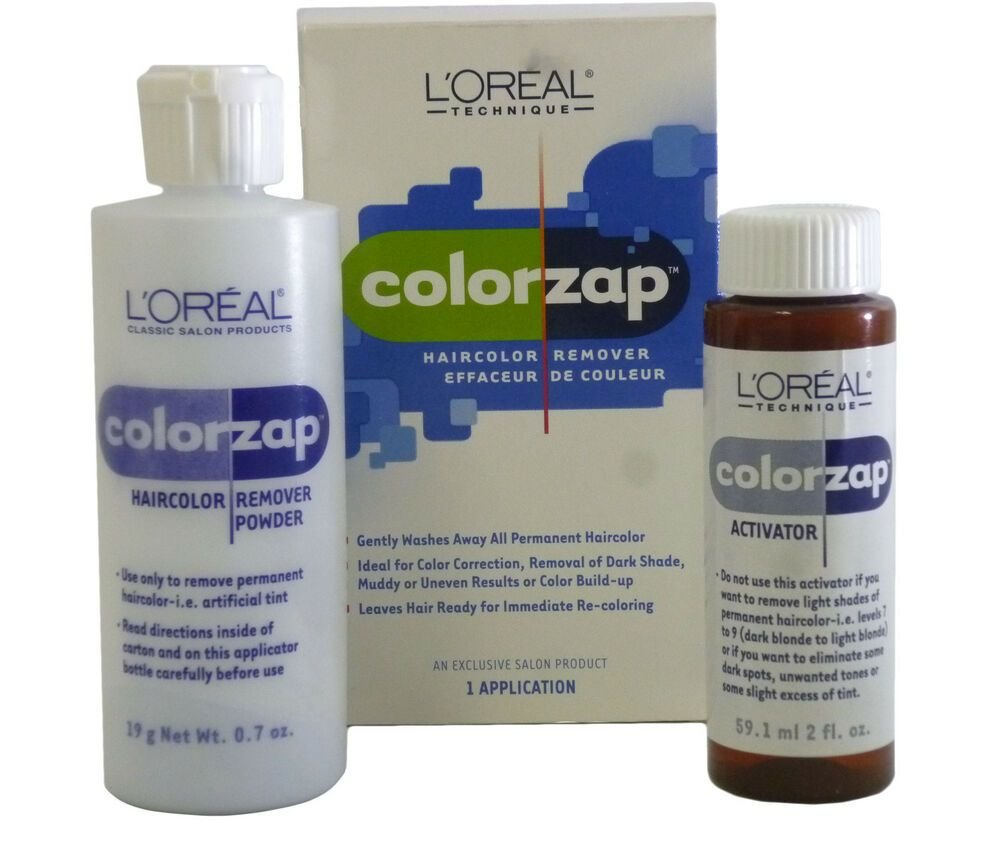 New Loreal Technique Color Zap Permanent Haircolor Remover Ideas With Pictures