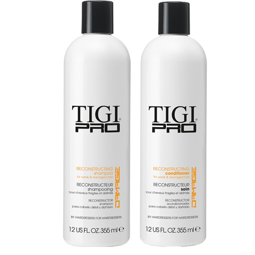 New Tigi Pro Reconstructing Shampoo Conditioner Fine Dry Ideas With Pictures