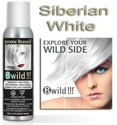 New Jerome Russell B Wild Temporary Hair Color Spray Siberian Ideas With Pictures