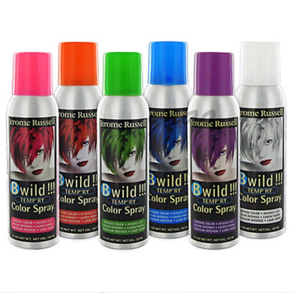 New Jerome Russell B Wild Temporary Hair Spray On Color 3 5 Oz Ideas With Pictures