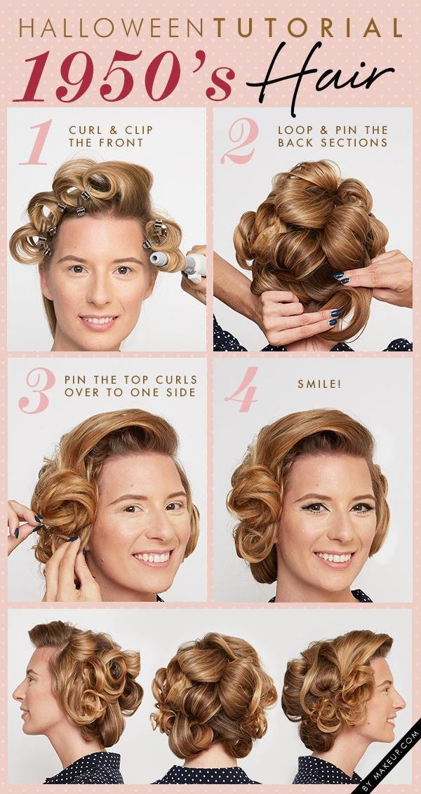 New Halloween Tutorial 1950′S Beauty Weddbook Ideas With Pictures