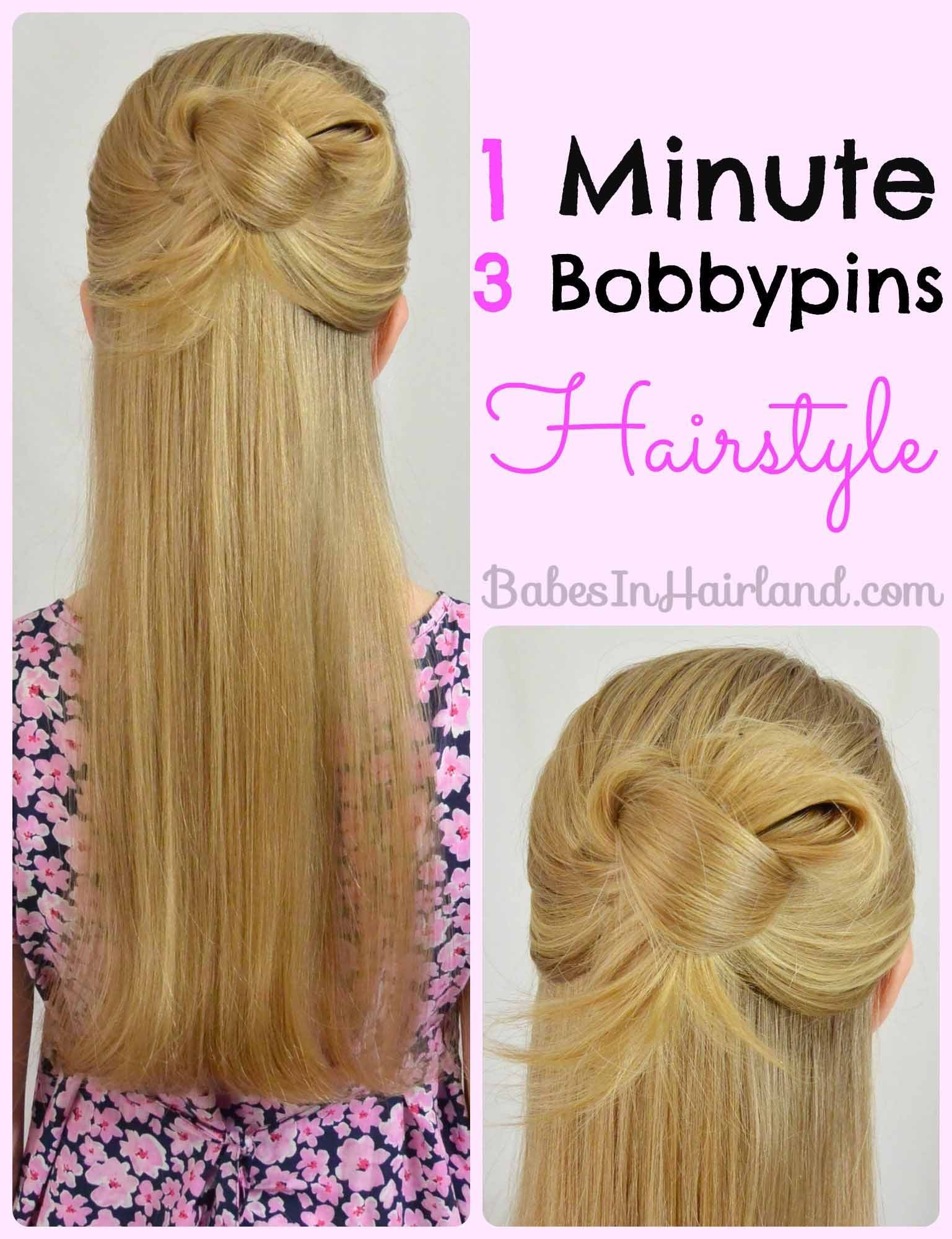 New 10 Quick And Easy Back To School Hairstyles B*B*S In Ideas With Pictures Original 1024 x 768