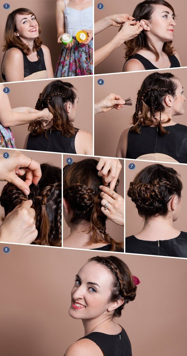 New Hair Tutorials For Short Hair Fashionsy Com Ideas With Pictures