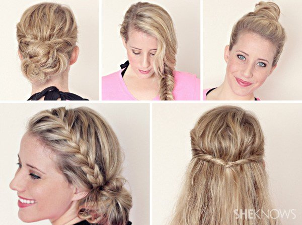 New Hairstyle Tutorials For Wet Hair Ideas With Pictures