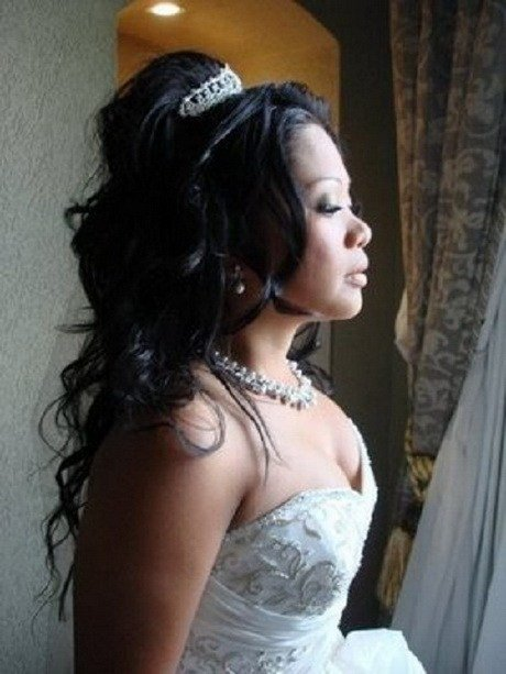 New Wedding Hairstyles For Black Brides Ideas With Pictures