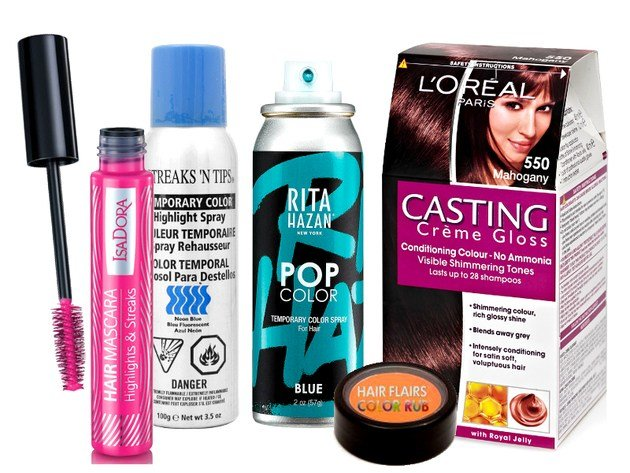New Best Temporary Hair Dyes Ideas With Pictures
