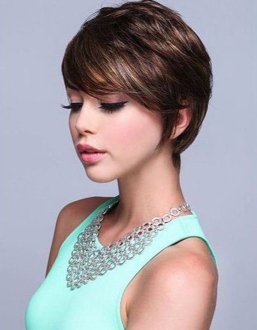 New 17 Effortless Chic Short Haircuts For Thick Hair Styles Ideas With Pictures