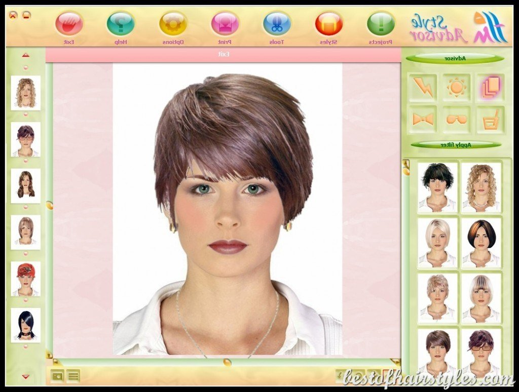 New Virtual Hairstyles Short Hairstyles 2019 Ideas With Pictures