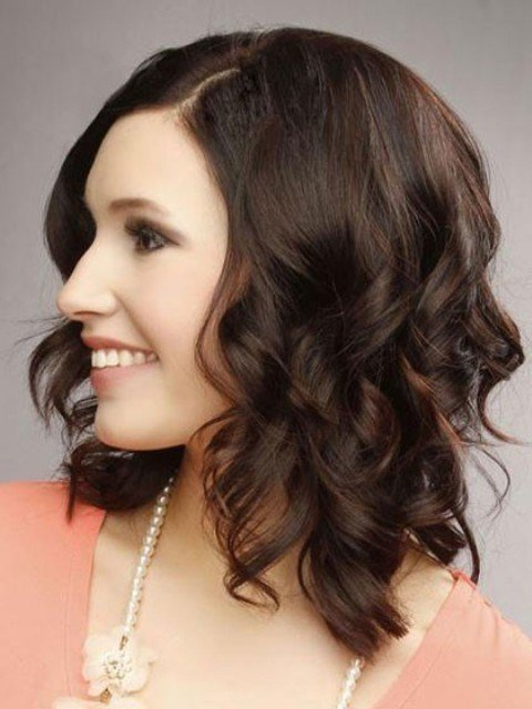 New Trendy Medium Length Hairstyles For Round Faces – Pictures Ideas With Pictures