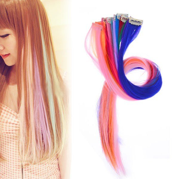 New Colored Hair Extensions Ellore Femme Ideas With Pictures