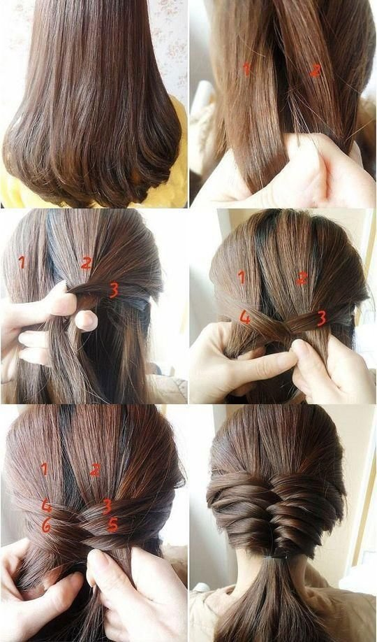 New 15 Simple Step By Step Hairstyles Ideas With Pictures