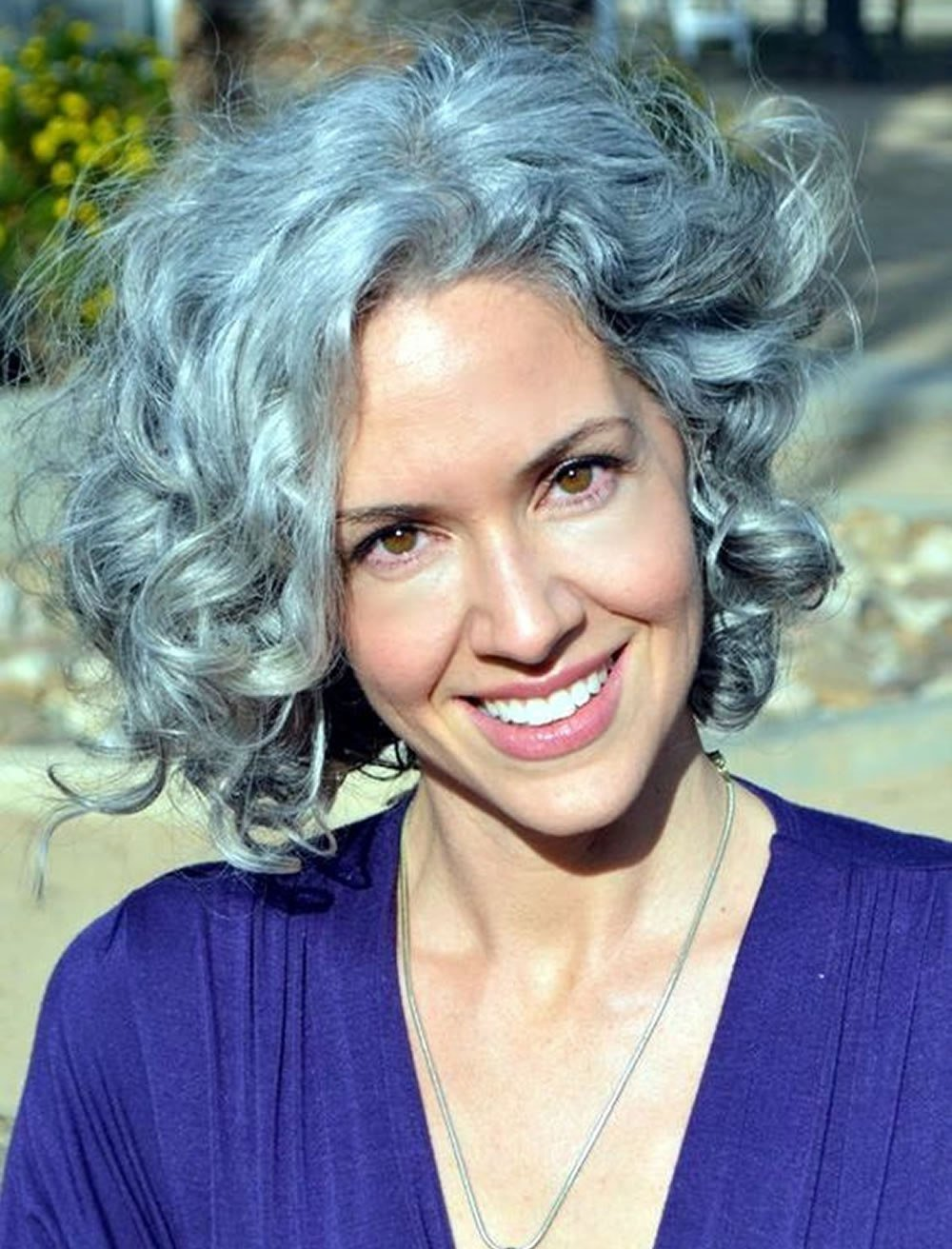 New Curly Short Hairstyles For Older Women Over 50 – Best Ideas With Pictures