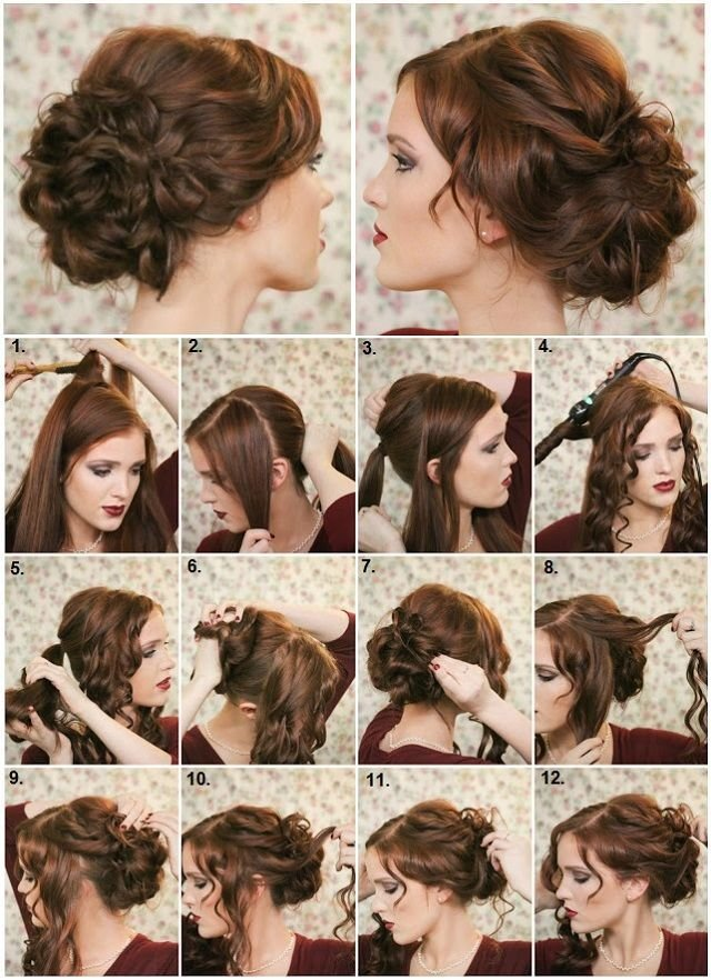 New Diy Fancy Bun Hairstyle Pictures Photos And Images For Ideas With Pictures