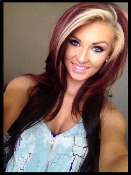 New Two Tone Hair Color Pictures Photos And Images For Facebook Tumblr Pinterest And Twitter Ideas With Pictures