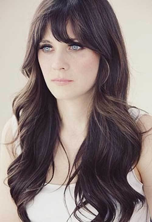 New 25 Hairstyles With Long Bangs Hairstyles Haircuts 2016 Ideas With Pictures Original 1024 x 768