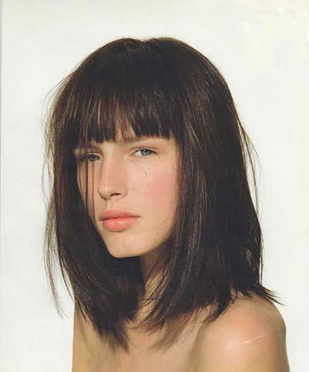 New 20 Chic Short Hair Ideas With Straight Bangs Hairstyles Ideas With Pictures