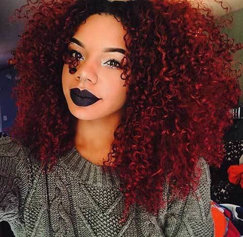 New 20 Long Red Curly Hair Hairstyles Haircuts 2016 2017 Ideas With Pictures