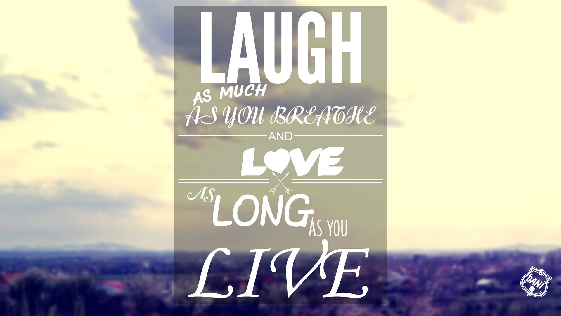 Live Laugh Love Wallpaper