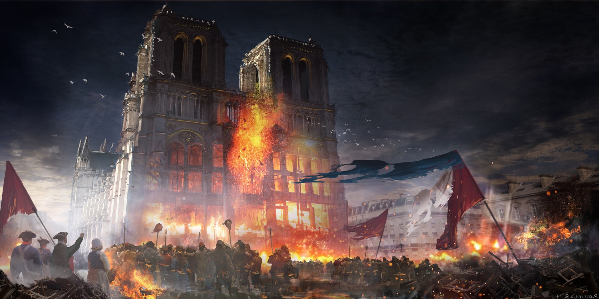 Assassins Creed Unity Video Games Wallpapers HD