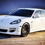 Porsche Panamera White Vellano Wheels Tuning Cars Wallpapers Hd Desktop And Mobile Backgrounds