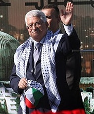 Abbas at Arafat's grave cropped