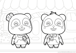 BabyBus-Coloring-Page
