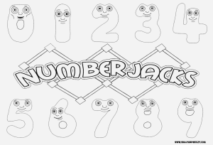 number jacks coloring pages - photo#15