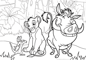 Watch Wally And Weezy Color Timon Pumba And Simba Of The Lion King