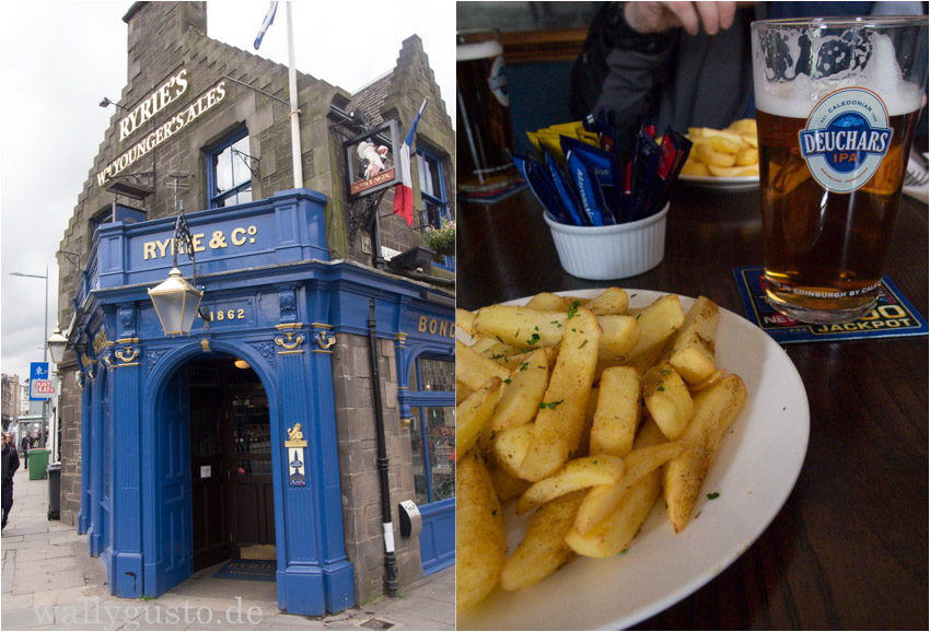 Ryries Pub Edinburgh