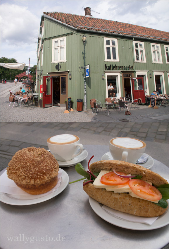 Norwegen Trondheim Kaffebrenneriet